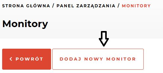 Monitoring stron WWW w Kru.pl