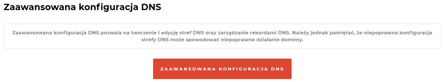 Jak edytować rekordy DNS